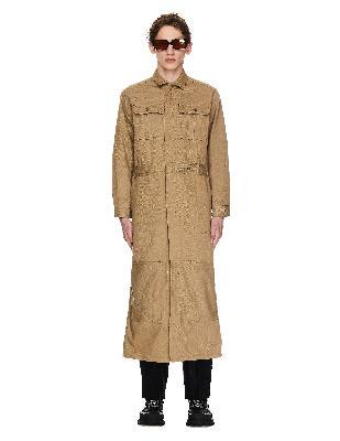 Doublet Silk & Cotton Jumpsuit Coat