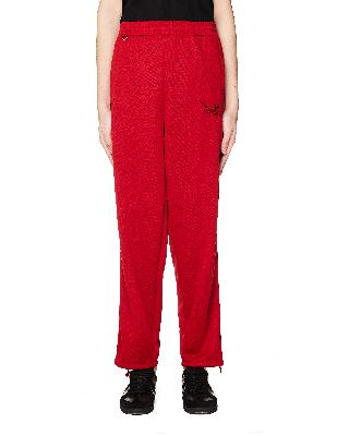 Doublet Red Embroidered Sweatpants