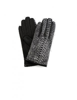 Haider Ackermann Python Leather Gloves