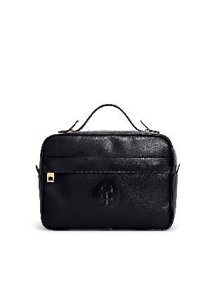 Honey Fucking Dijon Black Leather Bag