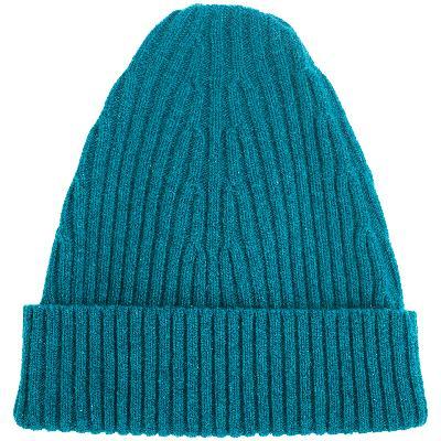 Maison Margiela Turquoise Wool Beanie