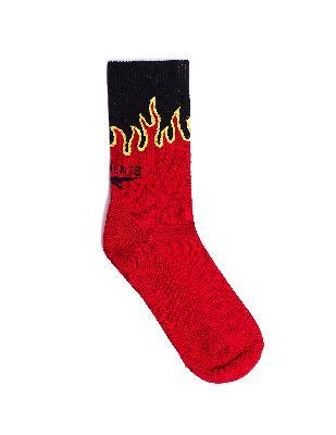 Vetements Cotton Flame Socks