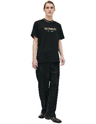 Vetements Black Rainbow T-shirt