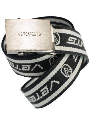 Vetements Tape Logo Belt