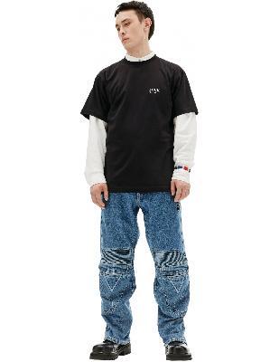 Vetements Black Printed T-shirt