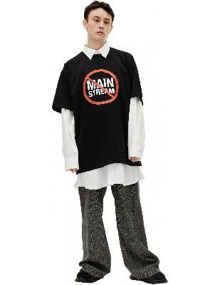 Vetements Anti Mainstream Printed T-shirt