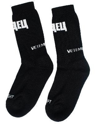 Vetements Vetements x SVMOSCOW Socks
