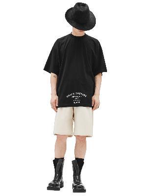Vetements Black Printed Haute Couture T-shirts